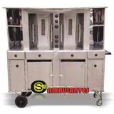 Maquina Churrasco Grego Duplo Shawarma Keba Esp. Automatico