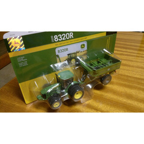 Trator John Deere 8320r E Bazuca Escala 1/64 - Ertl