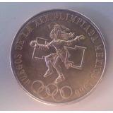 Moneda De Plata Ley .720 25 Pesos Olimpiada Mexico 1968