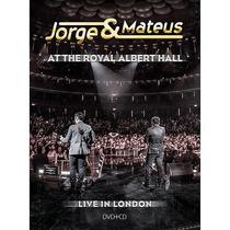 Kit Dvd +cd Jorge & Mateus The Royal Alberthall Frete Grátis