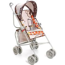 Carrinho De Bebê Reversível Guarda Chuva Girafas Galzerano