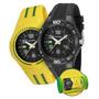 Relógio Mondaine Kit Troca Pulseira Brasil 69212g0mvnv1