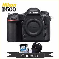 Corpo Nikon D500 Dx 20,9 Mp,wifi, 4k Nova