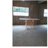 Mesa Multiuso En Madera De Pino. Modelo: Da Vinci