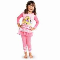 Pijama Princesas Con Tutu De Tul Original Disney Store T 6