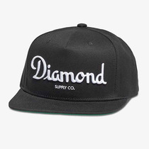 Boné Diamond Supply Co Champagne Black - Snapback