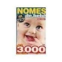 Livro Nomes De Bebê Editora Eclipse