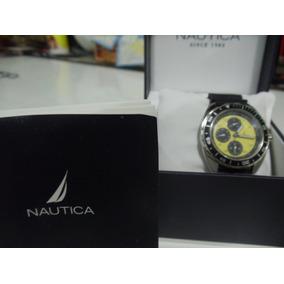d2901b6ff9c Relógio Nautica Fundo Laranja - Relógios De Pulso no Mercado Livre ...