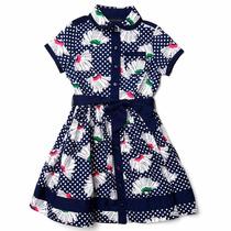 Vestido Floral Para Niña 422 Tommy Hilfiger 27786