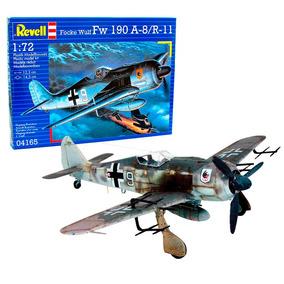 Plastimodelismo Revell Avião Focke Wulf Fw190 A-8/r-11 1/72