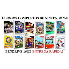 16 Jogos Completos Do Mario Nintendo Wii - Frete Gratís