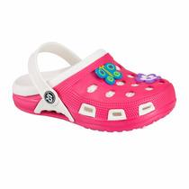 Sandalias Tipo Crocs Para Niña Suela Antiderrapante! 152749