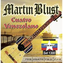 Cuerdas Para Cuatro Venezolano Martin Blust