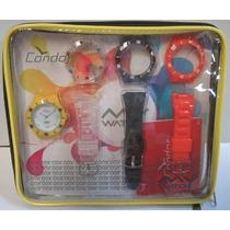 Relógio Condor New My Watch Troca Pulseiras