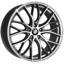 Roda Aro 17 Bmw 335i Biturbo - Grafite Diamantada 5x100