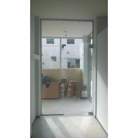 Puerta Blindex Vidrio Templado 10 Mm 914 X 2134 Mm Incoloro