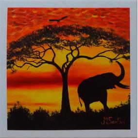 Desenho pintura paisagem em azulejo africano pinturas em - Pintura sobre azulejo ...