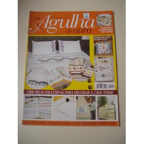 Revista Agulha De Ouro N°211 Crochê Ponto Cruz Jogo Banho