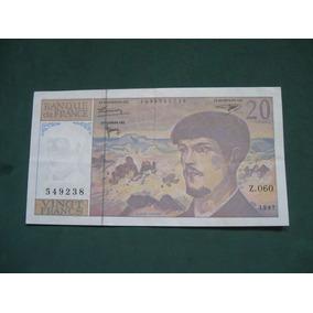 Billete Francia 20 Francs # 87
