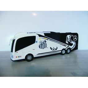 Miniatura Ônibus Santos Futebol Clube - Times De Futebol