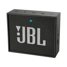 Caixa De Som Portátil Jbl Go Wireless Preto Novo
