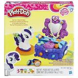 Set El Tocador De Rarity De Play-doh My Little Pony Hasbro B