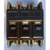 Breaker O Breker Triple 3 X 20 Amp Thqc Koby