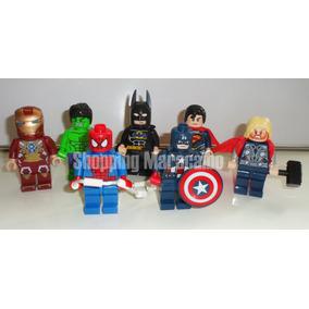 Super Heroes Lego Avengers De 8 Cm * Tienda Física *