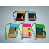 Estuche Tipo Cartera Tricolor Samsung Galaxy S4