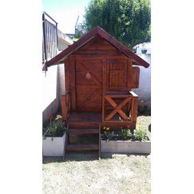 casita infantil de madera modelo mia calidad y buen precio
