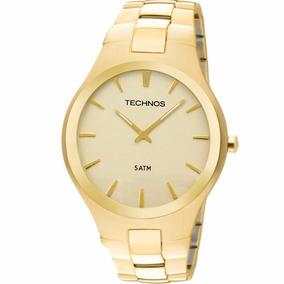 Relógio Technos Masculino Slim Dourado Gl20gr/4x