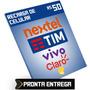 Recarga Celular R$50 Reais Credito Tim Vivo Claro Oi Nextel