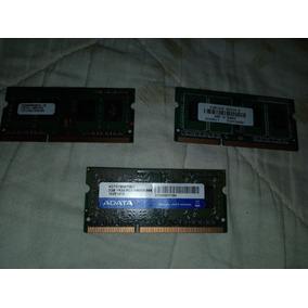 Memoria Para Lapto Ddr2 1 Gb Y Ddr3 1 Gb Y 2gb