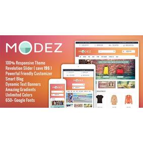 Modez - Responsive Prestashop 1.6 Tema + Blog Origina.