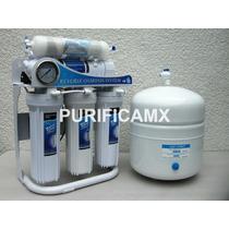 Osmosis Inversa 100 Gpd Con Bomba 6 Etapas Agua Alcalina