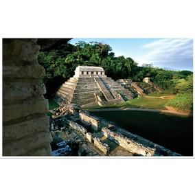 Rompecabezas Pirámide De Palenque Chiapas 1000 Pzas Rommex