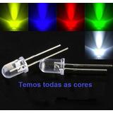 Led Diodos Emissor De Luz Auto Brilho 5mm 10 Peças