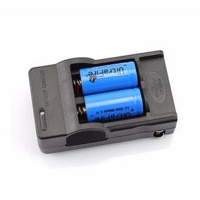 Carregador E 4 Baterias Cr123a 16340 880mah