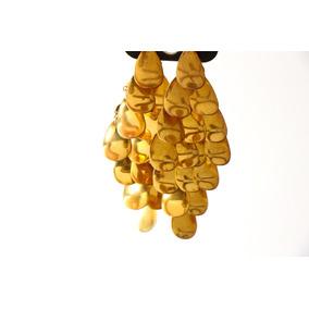 Aretes Dorados Importados De Texas Festivos Y Alegres