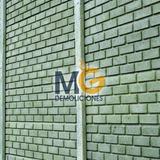 Placas De Pre-moldeado De Cemento A Tan Solo $375 El M2