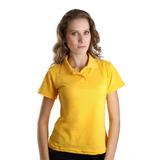 Kit 10 Camisa Pólo Feminina Básica Atacado E Revenda
