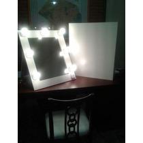 espejos con luces x con pie maquillaje todoespejos