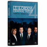 Dvd Lei & Ordem Crimes Premeditados 4ª Temporada - Original