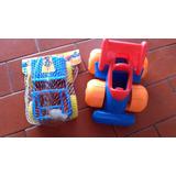 Lote 2 (dos) Autos Juguete Plasticos * Jeep * Industria Arg
