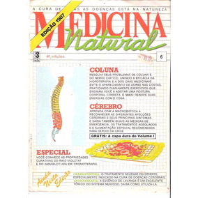 Medicina Natural 6 - 1987 - Editora Três