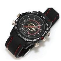 Relógio Espião 8gb À Prova Dágua Espiã Spy 5.0 Mp Na Caixa