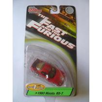 Racing Champions F&f (rapidos Y Furiosos) Mazda Rx-7
