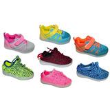 Tenis Led Zapatos Niña Niño Entrega Inmediata Cargador Usb