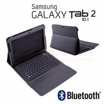 Teclado Bluetooth Galaxy Tab2 10pulgadas Envio Gratis Funda