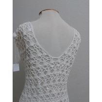 Vestido De Noiva Boho Chic Exclusivo De Crochê Atelier Vians